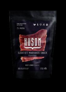 HUSOM KLASSZIKUS szárított marhahús snack (beef jerky) 40g